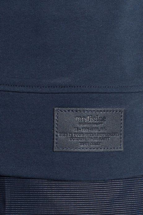 Man's Bluza Work In Progress niebieska