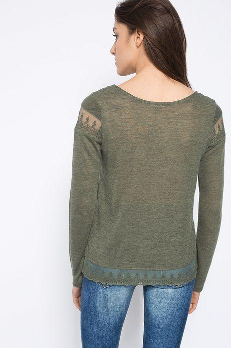 Bluzka Artisan zielona