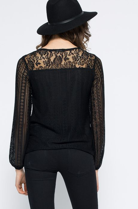 Woman's Bluzka Decadent czarna