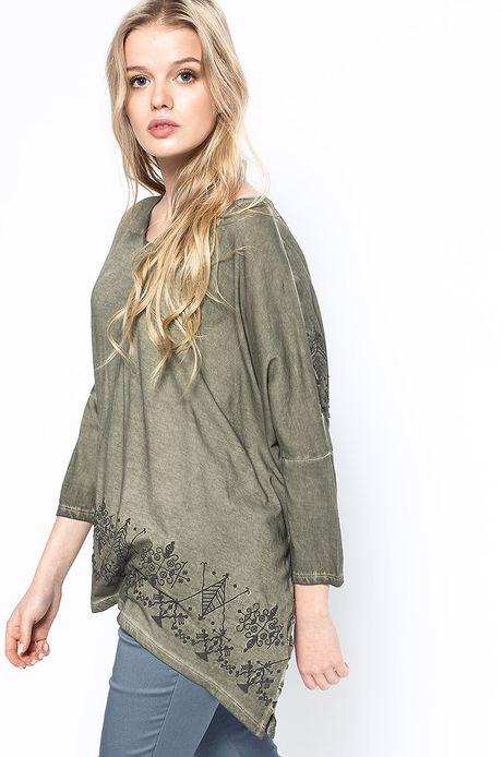 Bluzka Decadent zielona