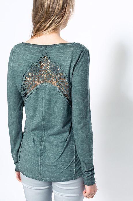 Woman's Bluzka Decadent niebieska