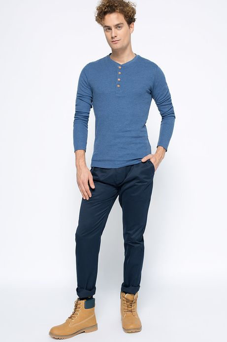 Man's Longsleeve Artisan niebieski
