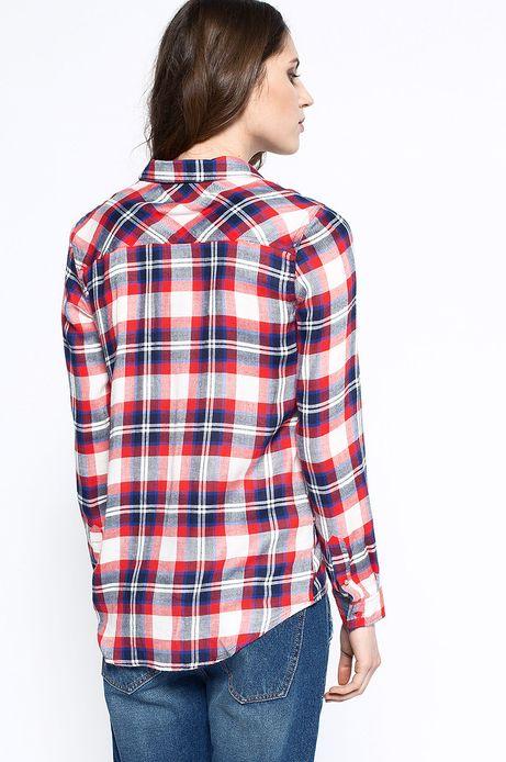 Woman's Koszula Artisan czerwona