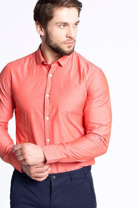 Man's Koszula Artisan pomarańczowa