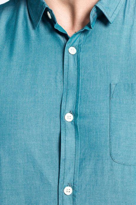 Man's Koszula Artisan zielona