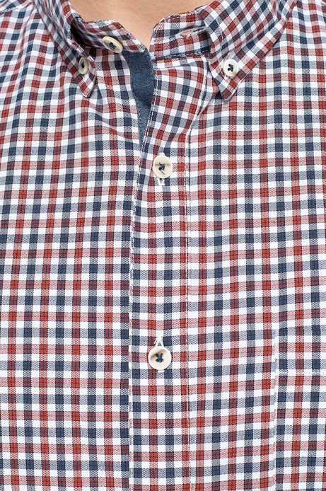 Man's Koszula Artisan czerwona