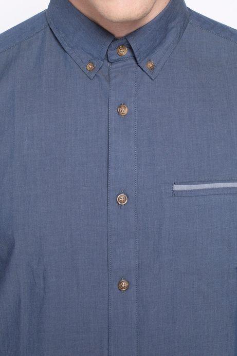 Man's Koszula Decadent granatowa