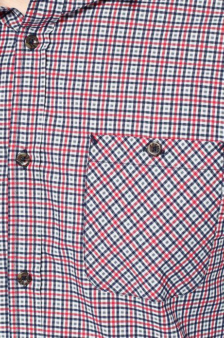 Man's Koszula Decadent czerwona
