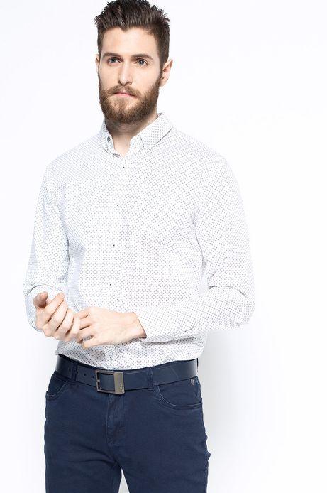 Man's Koszula Work In Progress biała