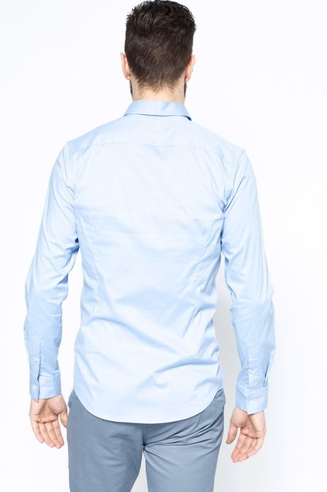 Man's Koszula Work In Progress niebieska