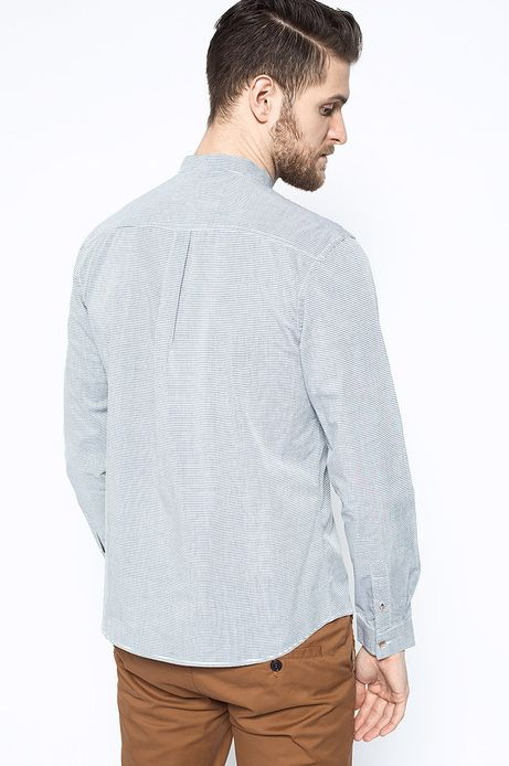 Man's Koszula Artisan szara