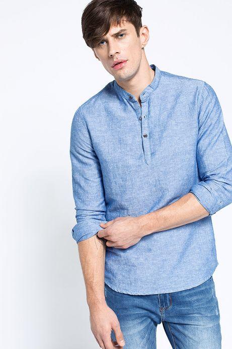Man's Koszula Decadent niebieska
