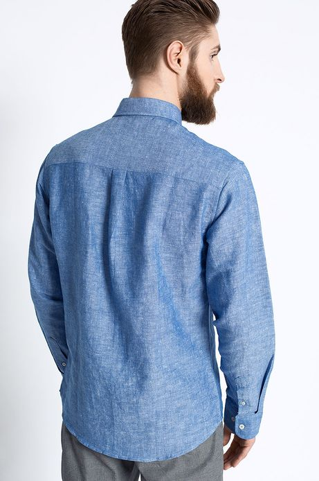 Koszula Work In Progress niebieska