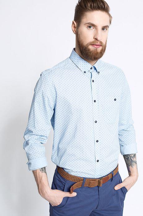 Man's Koszula Work In Progess niebieska