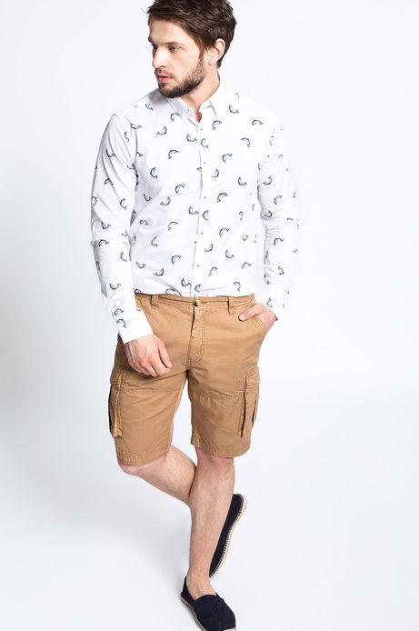 Man's Koszula Artisan biała
