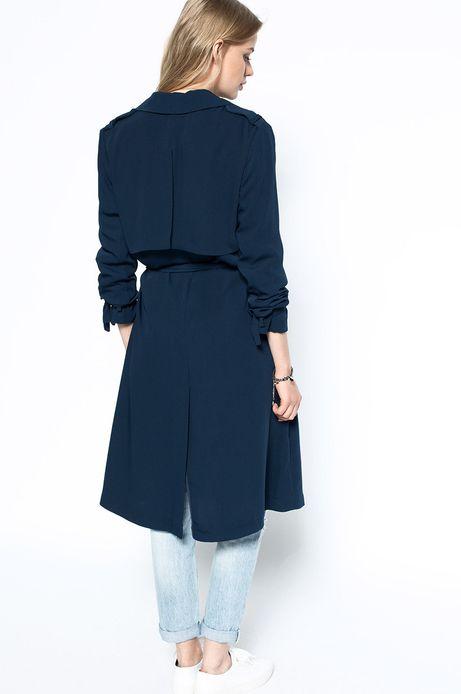 Woman's Płaszcz Decadent granatowy
