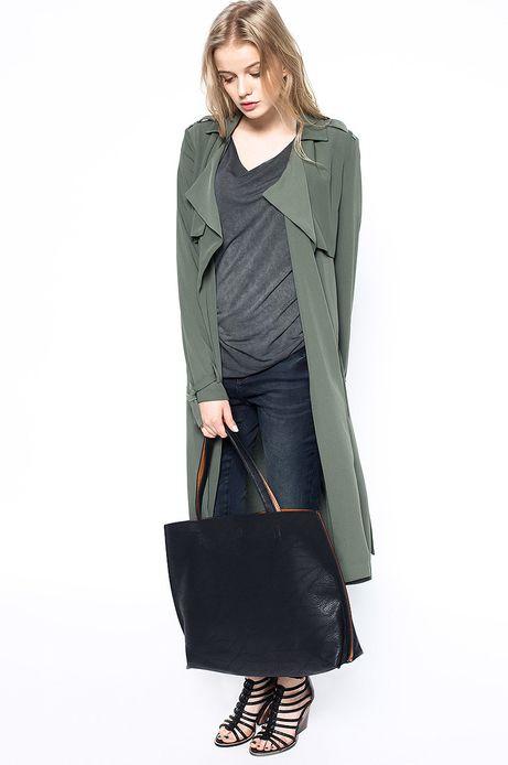 Płaszcz Decadent zielony