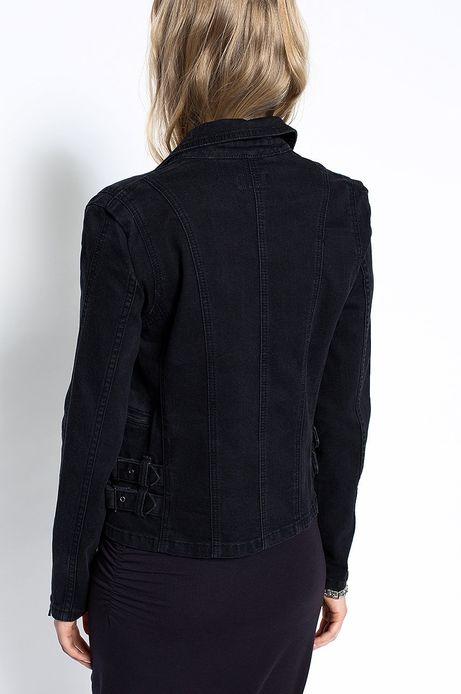 Woman's Kurtka Decadent czarna