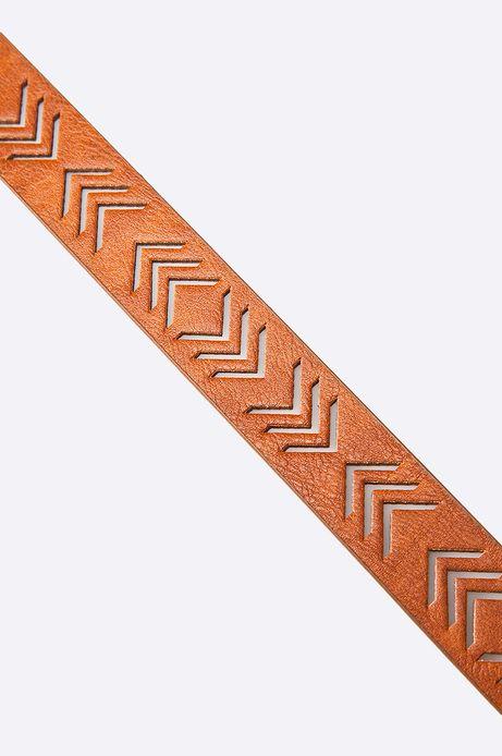 Pasek Decadent brązowy