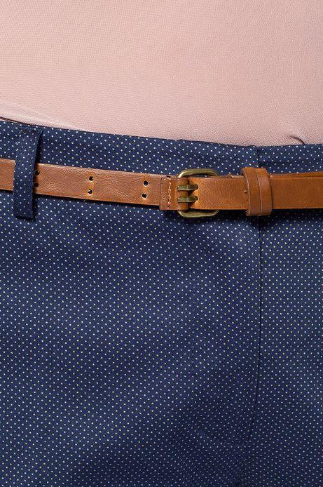 Woman's Spodnie Work In Progress niebieskie
