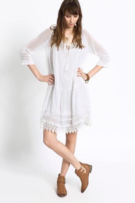 Sukienka Decadent biała