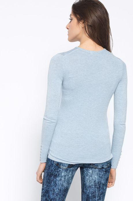 Sweter Artisan niebieski