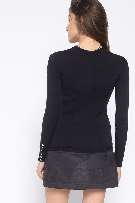 Sweter Artisan czarny
