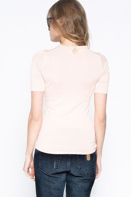 Sweter Artisan różowy