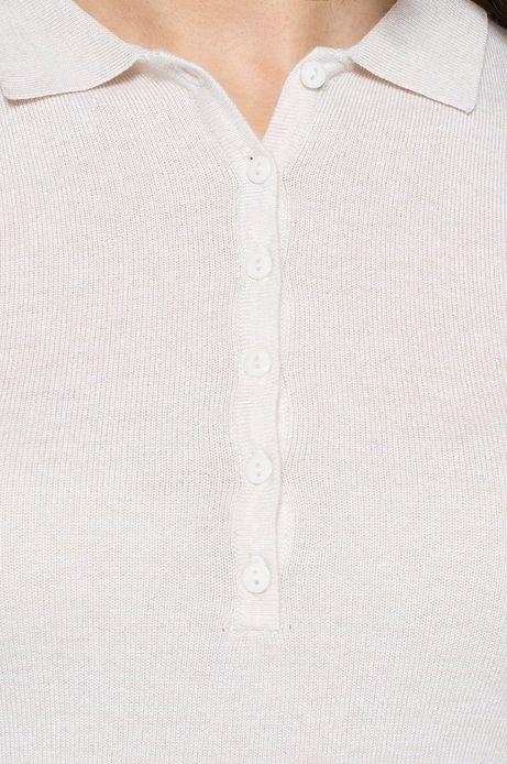 Sweter Artisan biały