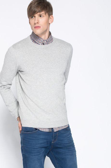 Sweter Artisan szary