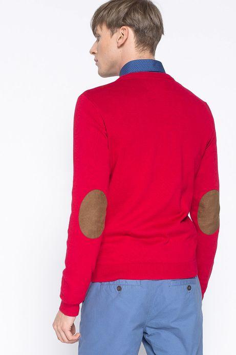 Sweter Artisan czerwony