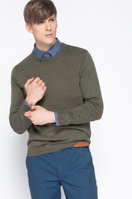 Sweter Artisan zielony