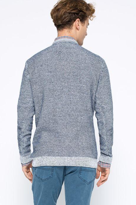 Sweter Artisan granatowy