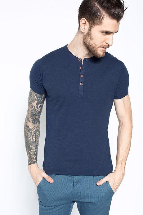 T-shirt Artisan granatowy