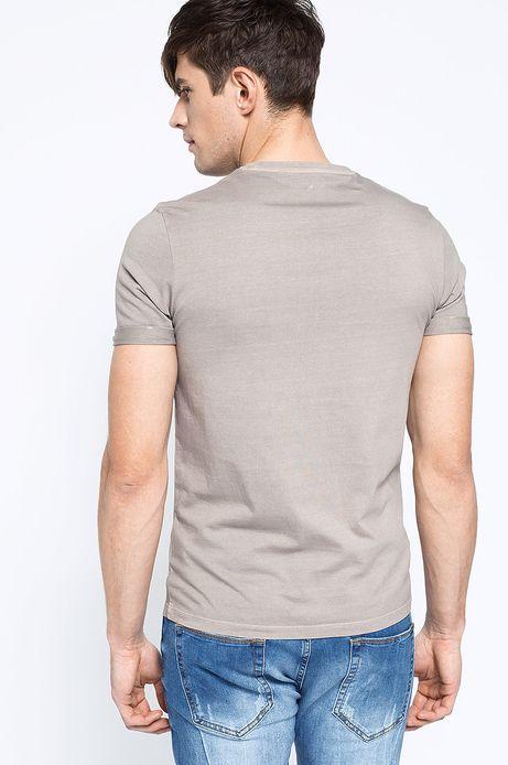 T-shirt Decadent żółty