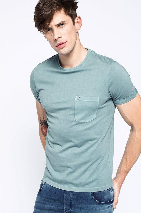 T-shirt Decadent turkusowy