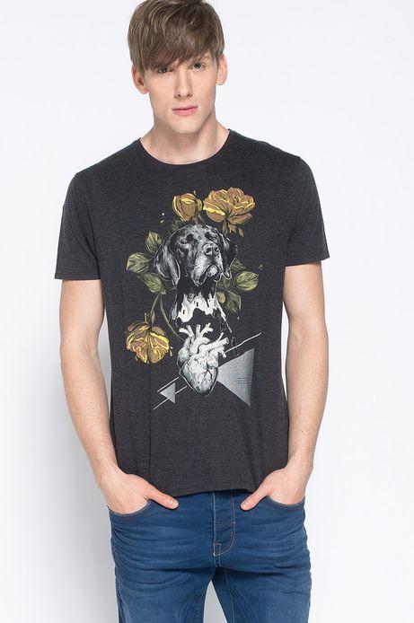 T-shirt Artisan szary