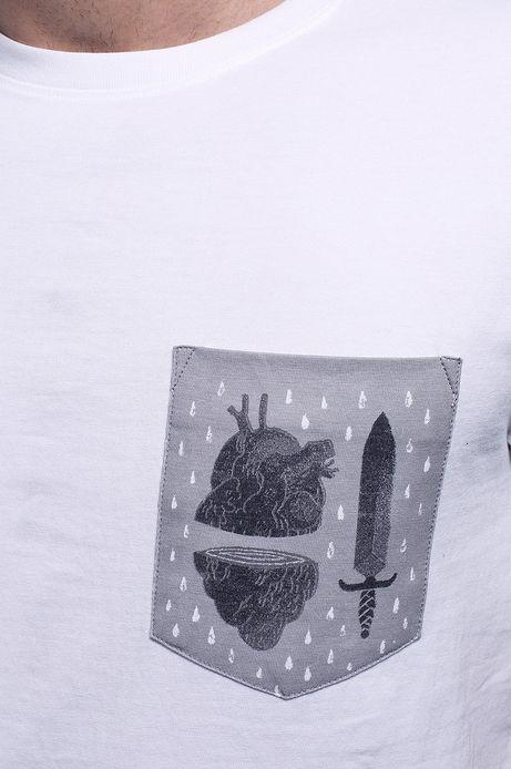 T-shirt Patrycja Podkościelny biały