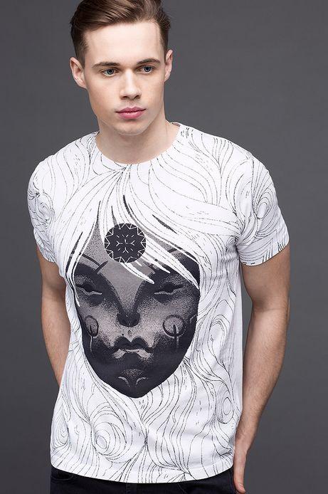 T-shirt Patrycja Podkościelny for Medicine biały