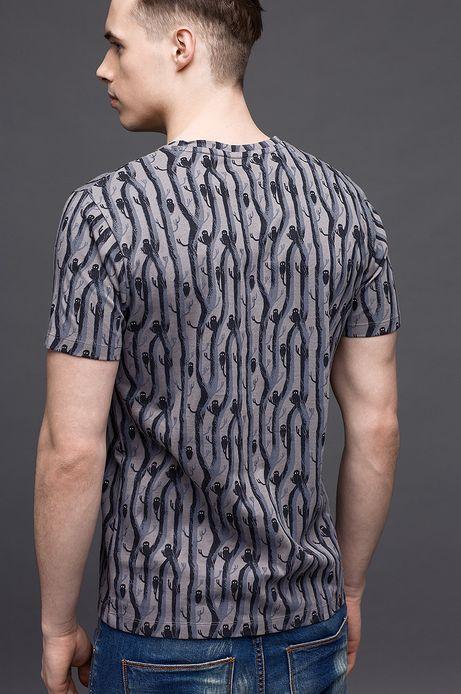 T-shirt Patrycja Podkościelny for Medicine szary