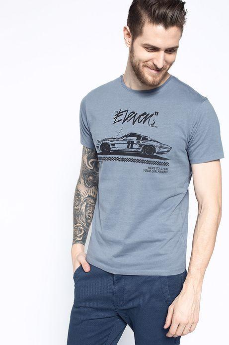 T-shirt Artisan niebieski