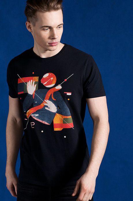 T-shirt Patryk Hardziej for Medicine czarny