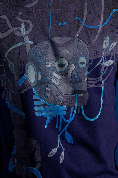 T-shirt Patryk Hardziej for Medicine granatowy