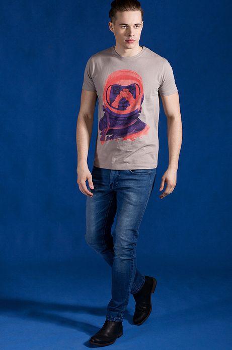T-shirt Patryk Hardziej for Medicine beżowy