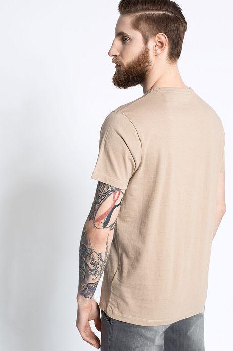 T-shirt Work In Progress beżowy