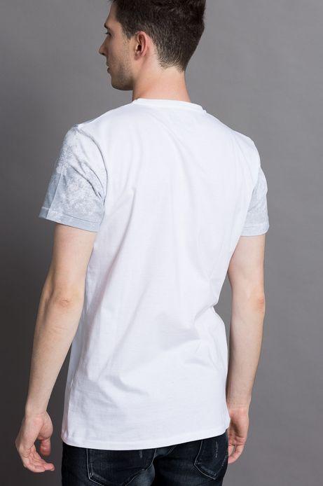T-shirt Piotr Jakób for Medicine biały