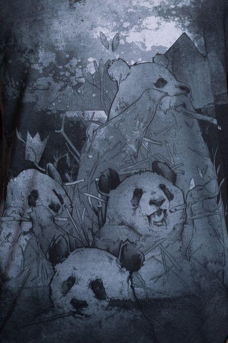 T-shirt Piotr Jakób for Medicine czarny