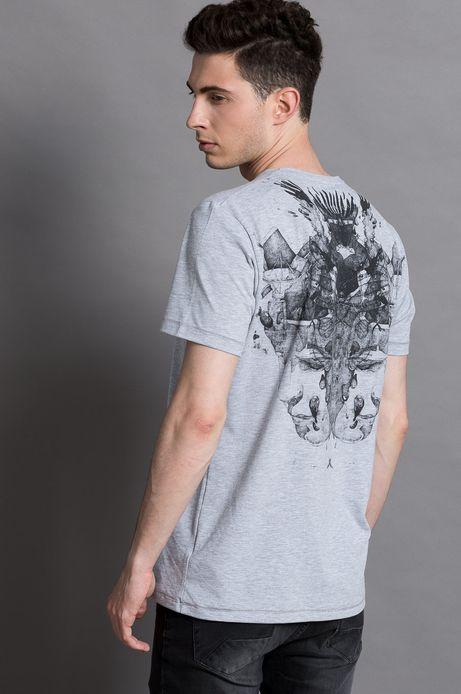 T-shirt Piotr Jakób for Medicine szary