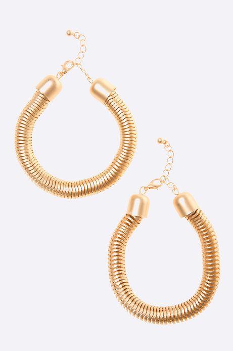 Bransoletka Marrakesh (2-pack) złota