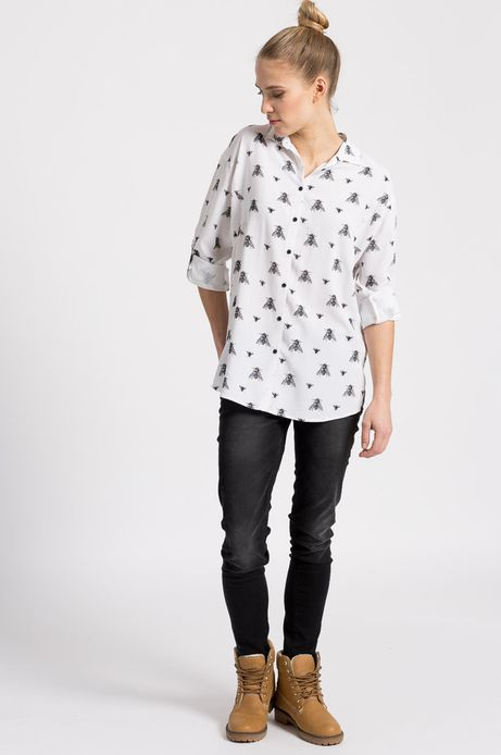 Koszula Kaja Renkas for Medicine biała